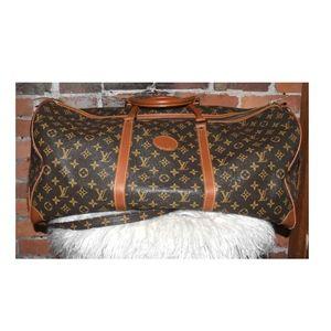 Leather Designer Weekend Travel BAG!